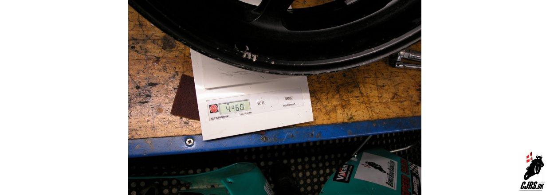 Hvorfor vejer en Yamaha TZM 250 kun 100kg.. del 2
