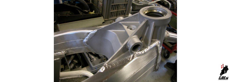 Honda RS 125 RF under renovering